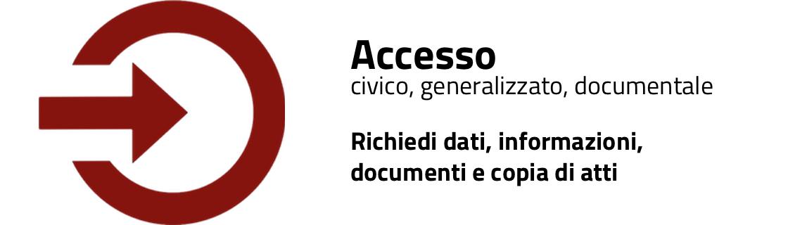 Accesso civico: chiedi i dati